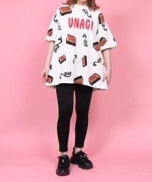 PUNYUS/うなぎ総柄Tシャツ/503292632