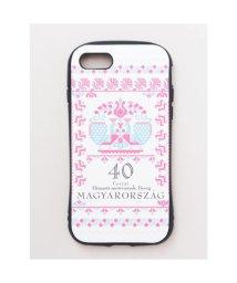 CAYHANE/【欧州航路】iPhone8/7兼用タフケース ハンガリー切手 Hybrid Tough Case ピンク/503343428