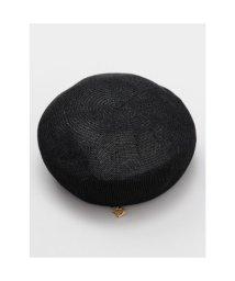 CAYHANE/【欧州航路】パピエベレー帽 ブラック/503343979