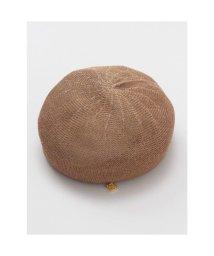 CAYHANE/【欧州航路】パピエベレー帽 ブラウン/503343980