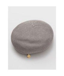 CAYHANE/【欧州航路】パピエベレー帽 グレー/503343981