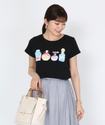 SCOTCLUB/SCOTCLUB(スコットクラブ) 【手洗い可】パフュームモチーフTシャツ/503345772