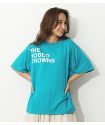 RODEO CROWNS WIDE BOWL/ショルダーロゴTシャツ/503350471