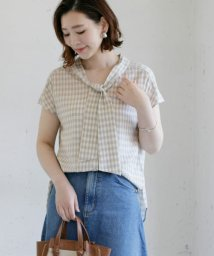 URBAN RESEARCH OUTLET/【ROSSO】チェックボウタイブラウス/503326589