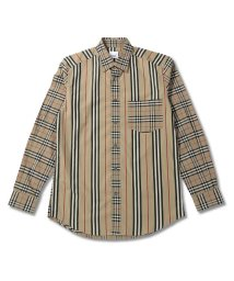 BURBERRY/BURBERRY CLASSIC.PK バーバリー クラシックフィット  パッチワークシャツ 80106401/503336905