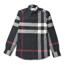 BURBERRY/BURBERRY SOMERTON バーバリー コットンポプリン チェックシャツ 80181111 メンズ/503336911