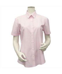 BRICKHOUSE/シャツ 半袖 形態安定 ニットシャツ レギュラー衿 汗ジミ軽減 レディース/503351056