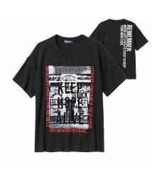 MAC HOUSE(kid's)/NAVY ネイビー フォトビッグTシャツ EJ203-KB129/503351088