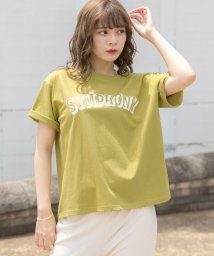 ad thie/ロゴプリントTシャツ/503351485