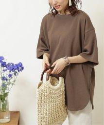 framesRayCassin/ラウンドヘムオーバーサイズ半袖Tシャツ/503351559