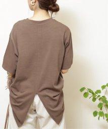 framesRayCassin/バックスリットBIGシルエットTシャツ/503351560