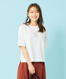any SiS L/【ecolofriend】アートプリント Tシャツ ロゴ/503352295