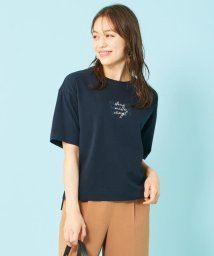 any SiS S/【ecolofriend】アートプリント Tシャツ ロゴ/503352301