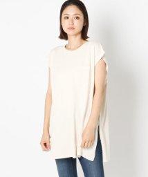 UNRELISH/フレンチスリーブBIGポケットTシャツ/503281241