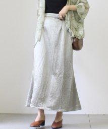 UNRELISH/ヴィンテージサテンAラインスカート/503281244