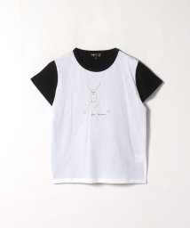 agnes b. FEMME/K292 TS 刺繍Tシャツ/503347894