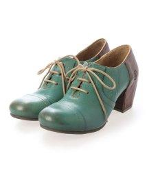 EU Comfort Shoes/ヨーロッパコンフォートシューズ EU Comfort Shoes レースアップシューズ (グリーン)/503352070