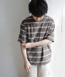 URBAN RESEARCH DOORS/UR TECH マルチボーダー Tシャツ/503353507