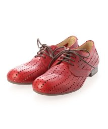 EU Comfort Shoes/ヨーロッパコンフォートシューズ EU Comfort Shoes レースアップシューズ (レッド)/503353849