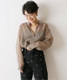 U by Spick&Span/≪予約≫フレアチュニックシャツ◆/503354018