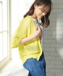 ViS/透かし編みショート丈七分袖ボレロ/503354359