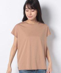 MELROSE Claire/シルケットスムースフレンチスリーブTシャツ/503344957