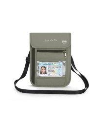 BACKYARD/パスポートケース スキミング防止 ストラップ付/503354478