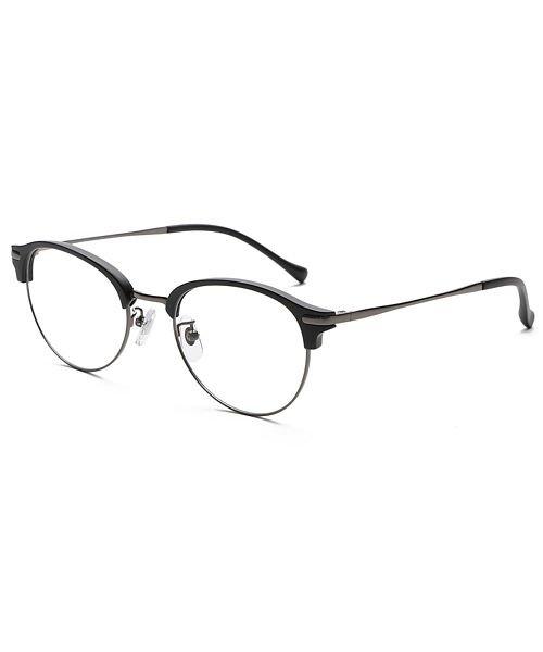 バックヤードファミリー ピントグラス ユニセックス ブラック系3 老眼鏡 【BACKYARD FAMILY】