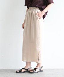 OZOC/セルロースサテンナロースカート/503355961