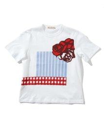 MARNI/MARNI(マルニ) Kids & Junior プリント半袖Tシャツ/カットソー/503356181