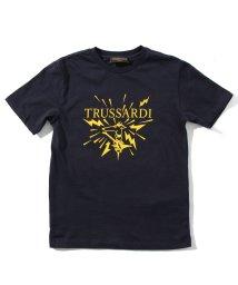 TRUSSARDI/TRUSSARDI(トラサルディ) Kids & Junior ブランドロゴプリントTシャツ/カットソー/503356190