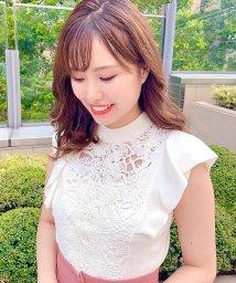 Noela/【美人百花9月号掲載】レース切替ニット /503356342