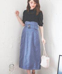 Noela/【美人百花10月号掲載】サス付タイトスカート /503356360