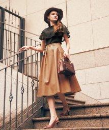 Noela/レザーフレアスカート /503356362