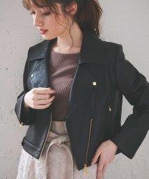 Noela/ライダースジャケット /503356370