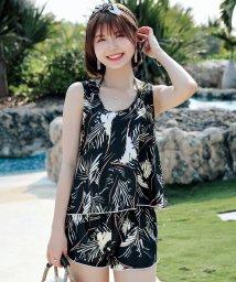 TeddyShop/水着 レディース タンキニ 4WAY 4点 セットアップ/503006244