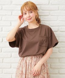INGNI/ポケット付半袖Tシャツ                         /503125868
