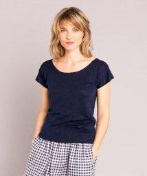 agnes b. FEMME/JDJ6 TS リネンTシャツ/503216410