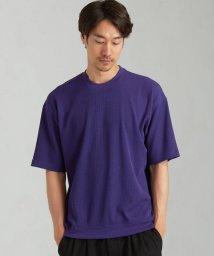 green label relaxing/デオセル ワッフル スウェット クルーネック 半袖 Tシャツ < 機能性 / 吸水速乾 ・ 消臭 >/503301756