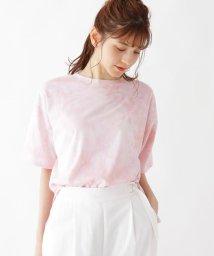 SHOO・LA・RUE Cutie Blonde/【M-L】タイダイ柄Tシャツ/503304607