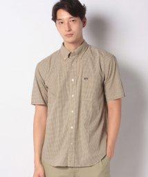 McGREGOR/【一部店舗限定】小柄チェックブロード半袖シャツ/503332857
