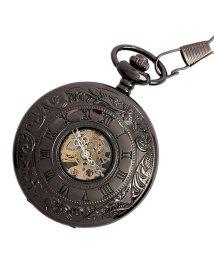 SP/懐中時計 PWA004-BLK ポケットウォッチ 手巻き 機械式時計 メンズ時計/503346806