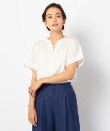 FREDY REPIT/麻混スキッパーシャツ(fredy couleur)/503350231