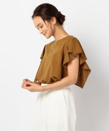 FREDY REPIT/ラッフルスリーブTシャツ(fredy couleur)/503350233