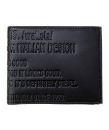 DIESEL/【メンズ】DIESEL X06734 P0503 二つ折り財布/503353450