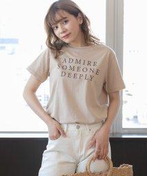 ad thie/ロゴプリントTシャツ/503356924