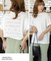 ad thie/バックロゴプリントTシャツ/503356925