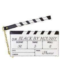 Mーfactory/iPhone SE(第2世代)/8/7/6s/6 BLACK BY MOUSSY[カチンコ手帳ケース/ホワイト] / 手帳/503357046