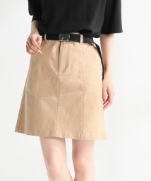 Honeys/ベルト付台形スカート/503357101