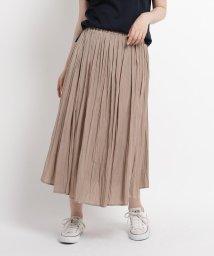 Dessin/【XS~Lサイズあり・洗える】サテンギャザースカート/503358079